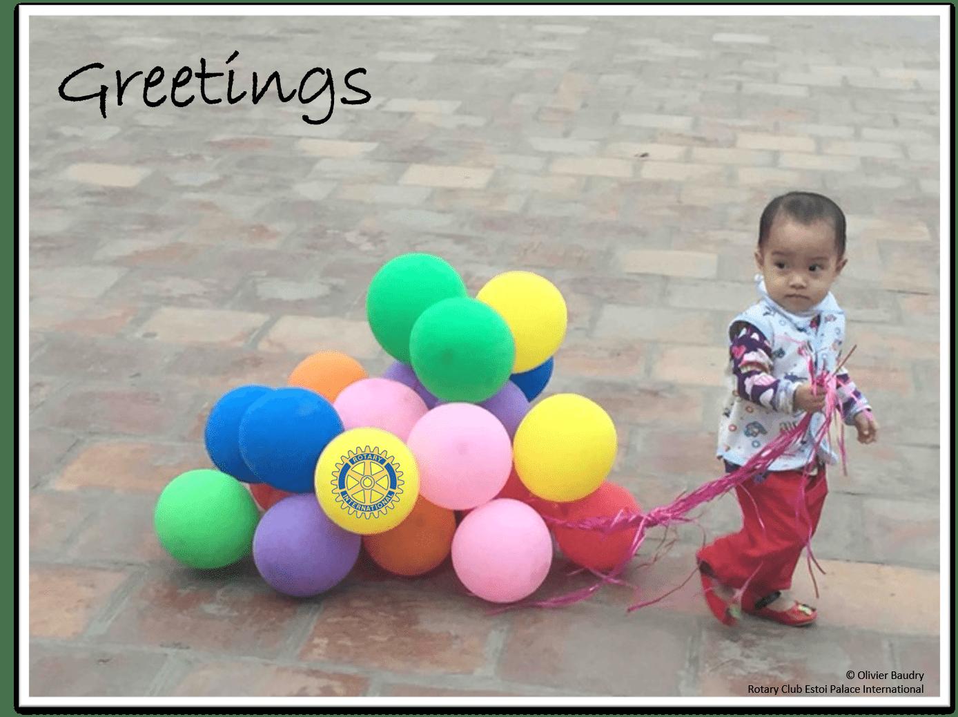 Balloons Greetings